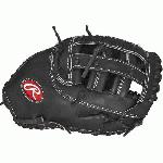 rawlings heart of hide protm8sb softball first base mitt 12 5 right hand throw