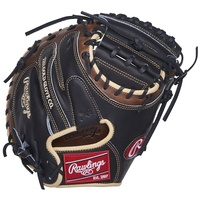 rawlings heart of the hide 1 piece web catchers mitt 33 right hand throw