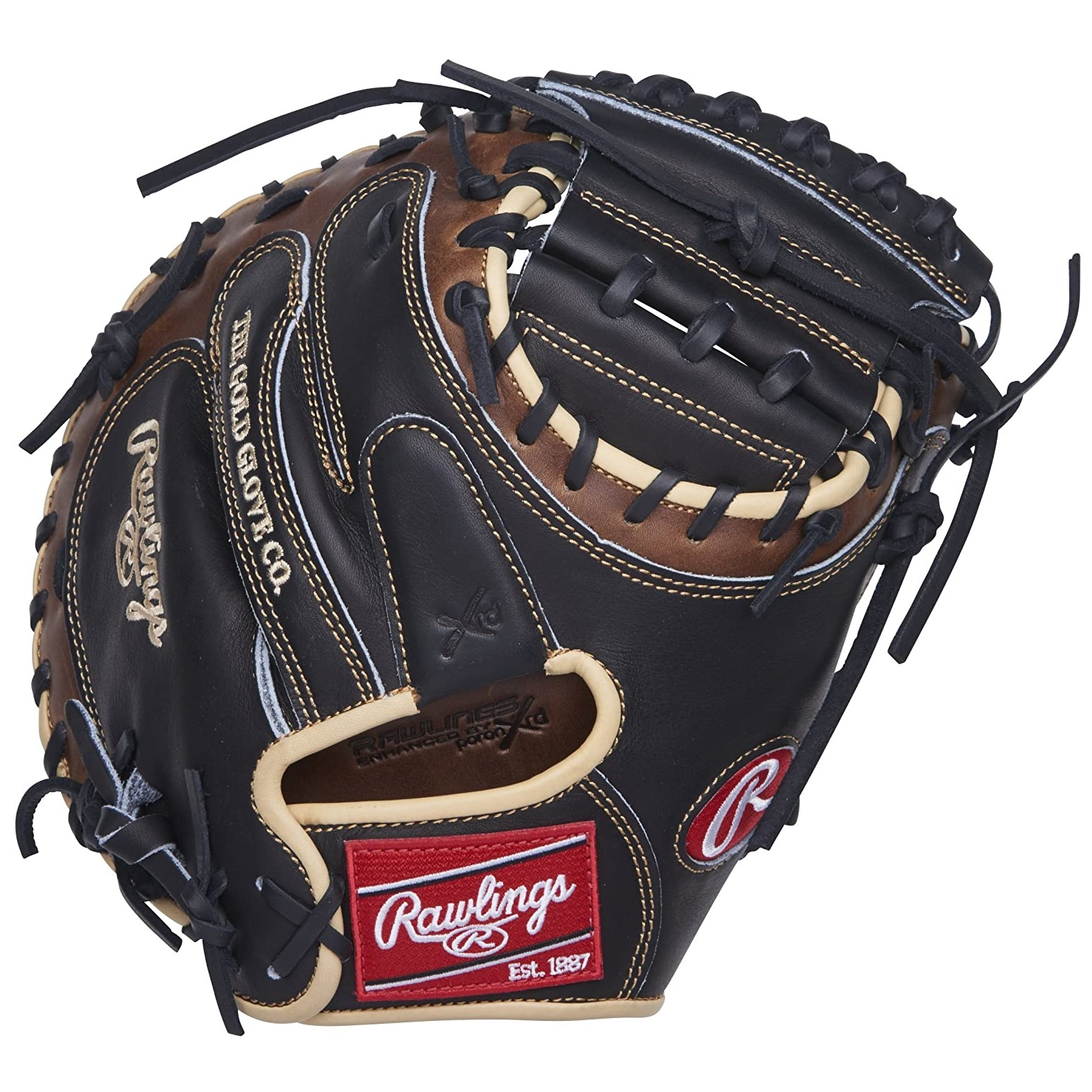 rawlings-heart-of-the-hide-1-piece-web-catchers-mitt-33-right-hand-throw PROCM33BSL-RightHandThrow   Crafted from world-renowned ultra-premium steer-hide leather this Heart of the Hide