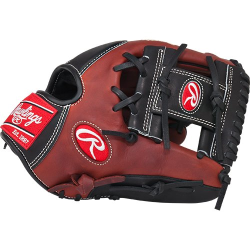 Rawlings Heart of the Hide 11.5 inch Baseball Glove PRO200-2PB (Right Hand Throw) : This Heart of the Hide players series baseball glove features the PRO I Web pattern, which is a single post reinforced bottom web that conforms to a smaller lighter web pattern desired by infielders, this allows you to better shape the pocket. With its 11 12 pattern, this glove features a flat, shallow pocket which allows fielders to get the ball out of the glove quickly. It works best for 2nd Base or Shortstop positions. The Heart of the Hide players series features the game-day patterns of the Rawlings Advisory staff. Available in select Heart of the Hide model, these high quality gloves have defined the careers of those deemed The Finest in the Field, and are now available to elite athletes looking to join the next class of defensive greats. This glove is the same pattern worn by Alexei Ramirez.