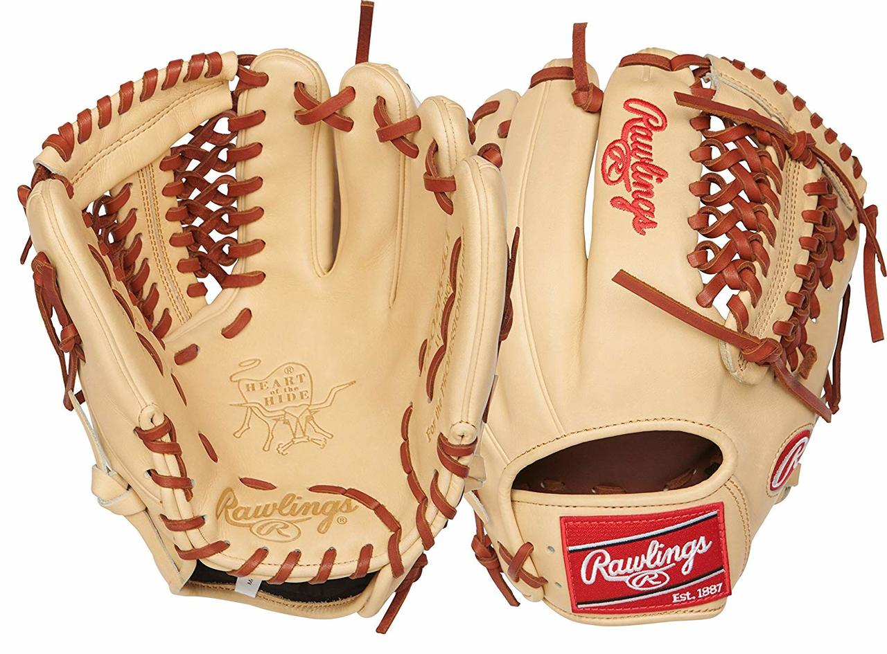 Crafted from premium steer hide leather FeaturesA medium pocket depth preferred by infielders Thumb-to-pinky close improves ball security Palm lining and soft fingerback linings offer a comfortable Durable TennesseeA Tanning rawhide leather laces add strength