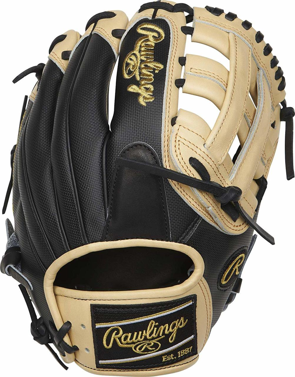 rawlings-heart-of-the-hide-205-6bcss-baseball-glove-11-75-right-hand-throw PRO205-6BCSS-RightHandThrow Rawlings 083321598739 This Rawlings Heart of the Hide 11.75-inch H-web glove comes in
