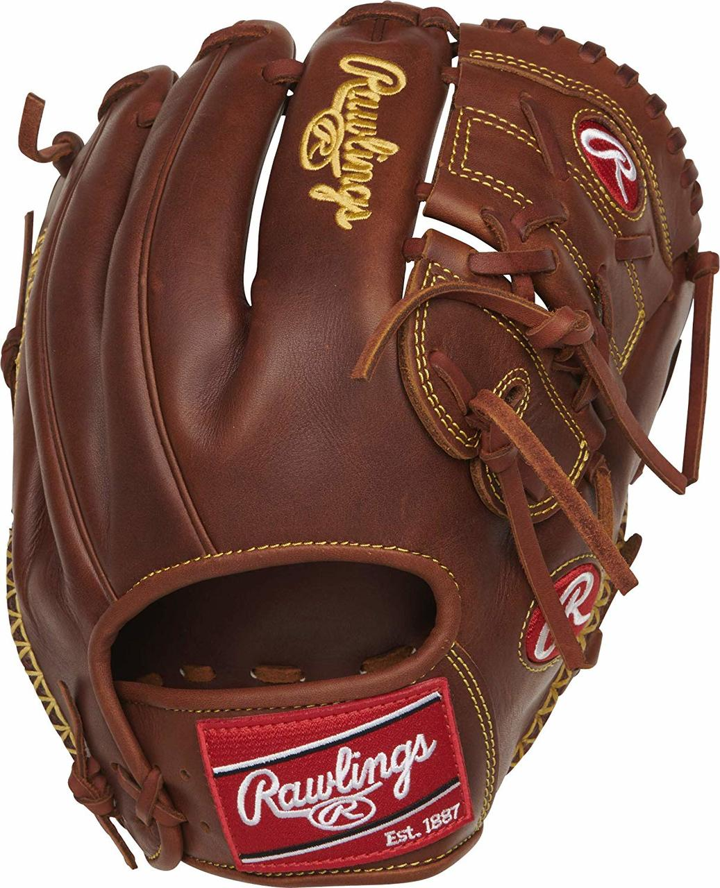 rawlings-heart-of-the-hide-205-9tifs-baseball-glove-11-75-right-hand-throw PRO205-9TIFS-RightHandThrow Rawlings 083321599033 Made from renowned Heart of the Hide leather this 11.75 inch
