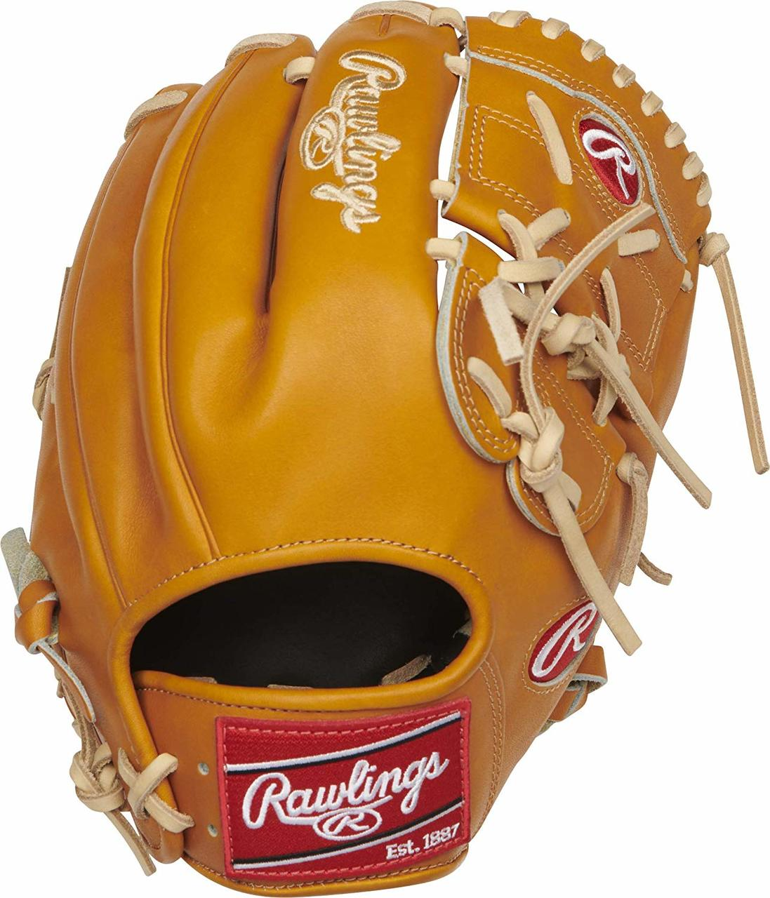 rawlings-heart-of-the-hide-206-9t-baseball-glove-12-right-hand-throw PRO206-9T-RightHandThrow Rawlings  Heart of the Hide baseball gloves are handcrafted with ultra-premium steer-hide