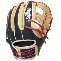 rawlings heart of the hide baseball glove x laced single post web 11 5 inch right hand throw