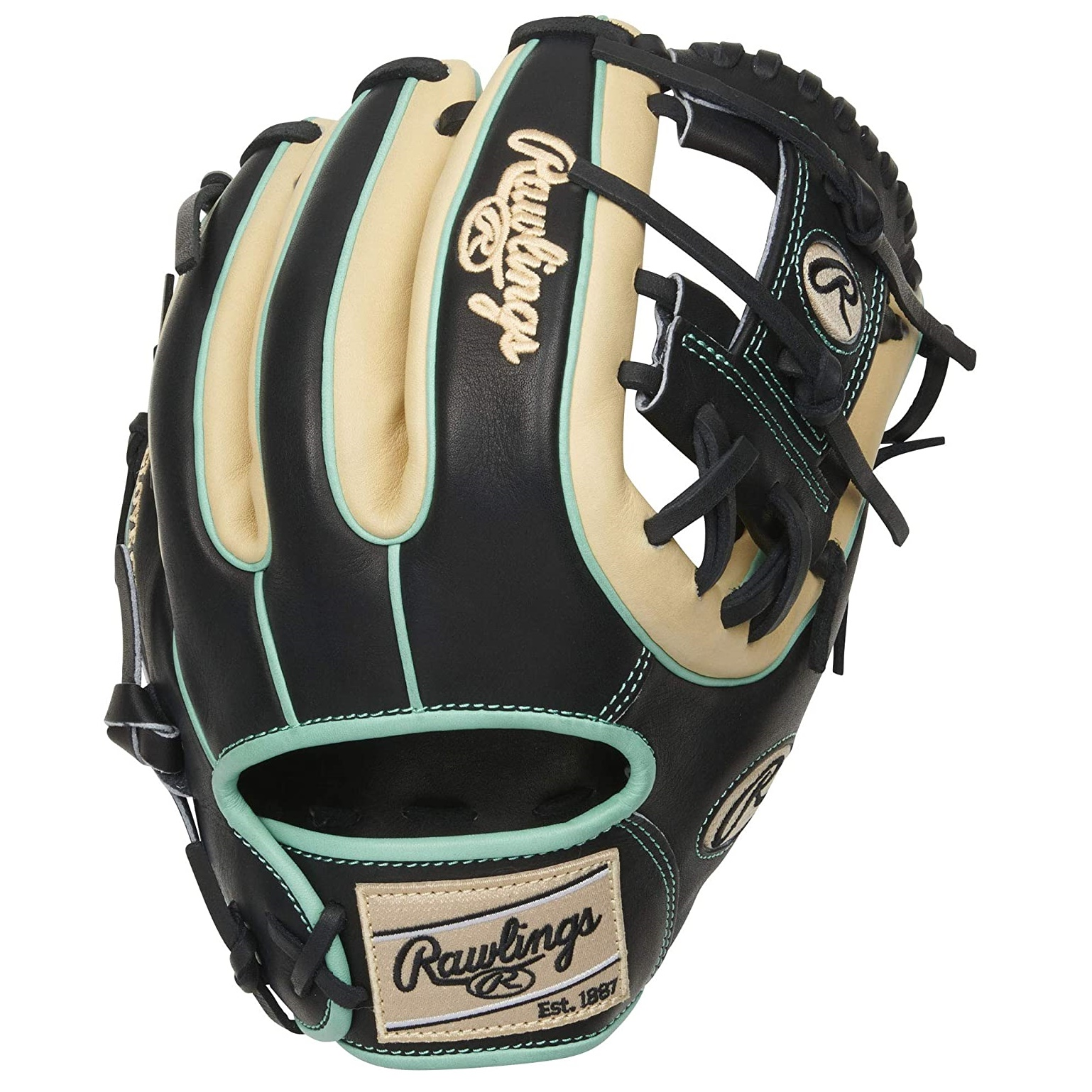 rawlings-heart-of-the-hide-black-camel-mint-r2g-baseball-glove-pro-i-web-11-5-inch-right-hand-throw PROR314-2CBM-RightHandThrow   Take your game to the next level with the 2021 Heart