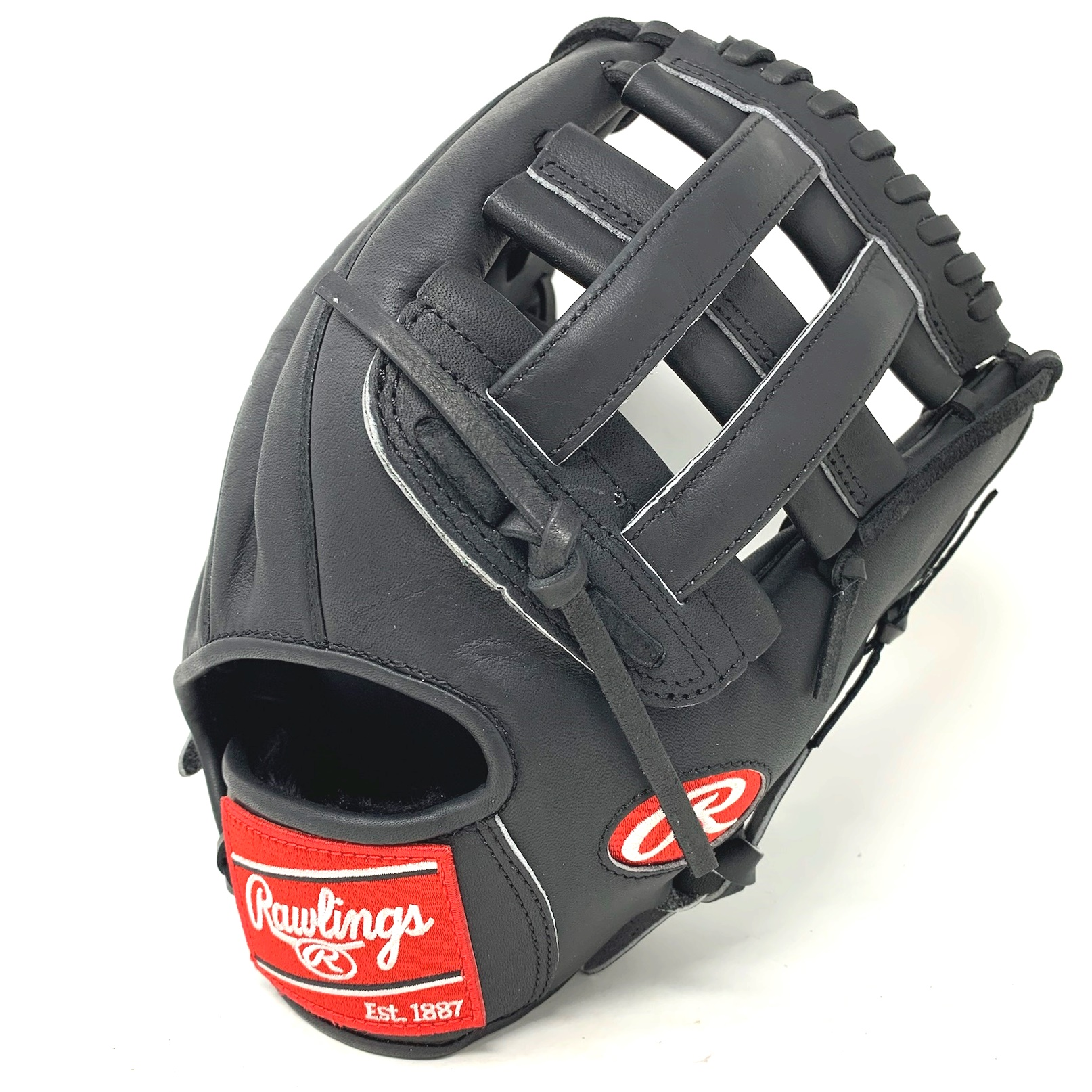 rawlings-heart-of-the-hide-black-horween-pro1000hc-baseball-glove-12-inch-right-hand-throw PRO1000HB-21-RightHandThrow   <span>The Rawlings PRO1000HB Black Horween Heart of the Hide Baseball Glove