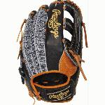 12.75 pattern Heart of the Hide Leather Shell Same game-day pattern as some of baseball's top pros Limited Edition Color Sync Colored Rawlings Patch Constructed from the top 5% of all steerhides available. Deertanned cowhide plus palm lining and soft full-grain fingerback linings provide a comfortable feel. Tennessee Tanning rawhide leather laces add durability and strength . Custom Rawlings ColorSync patch on the back hand offers a unique look. Same game-day pattern as some of baseball's top pros.