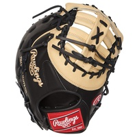 rawlings heart of the hide first base baseball glove camel black 13 inch right hand throw