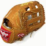 Classic remake of Heart of the Hide PRO303 Outfield Baseball Glove in Horween leather. Stiff and non oil treated. H Web and Open Back. 12.75 Outfield Pattern.