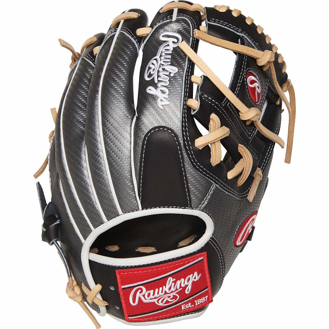 rawlings-heart-of-the-hide-hyper-infield-baseball-glove-11-5-right-hand-throw PRO204-2BCF-RightHandThrow Rawlings 083321526510 Constructed from Rawlings' world-renowned Heart of the Hide® steer hide leather