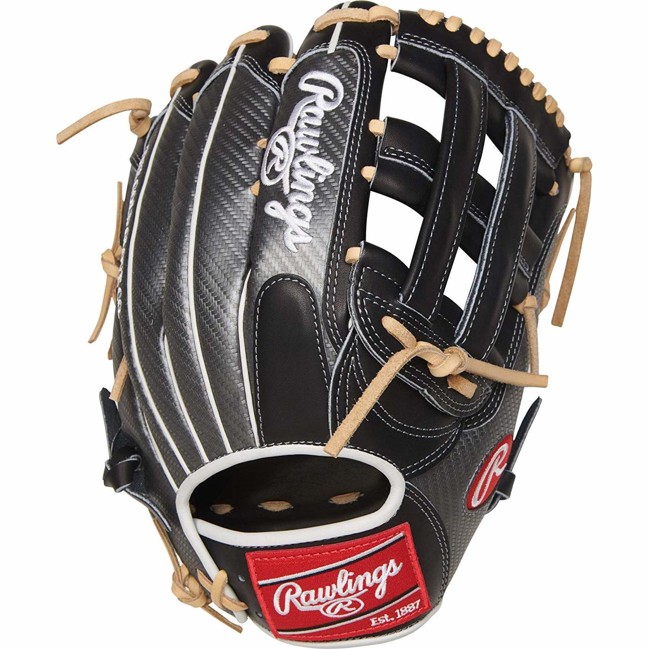 rawlings-heart-of-the-hide-hyper-shell-pro3039-6bcf-baseball-glove-12-75-right-hand-throw PRO3039-6BCF-RightHandThrow Rawlings 083321526534 Constructed from the top 5% of available hides Lighter than traditional