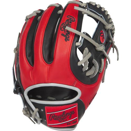 Pro I™ web is typically used in middle infielder gloves Infield glove 60% player break-in Recommended for adult or elite player Conventional back features a wide opening above the wrist 31 Pattern - designed to open wider offering a wider pocket Tennessee Tanning pro lace Deer-tanned cowhide lining Heart of the Hide traditional leather shell