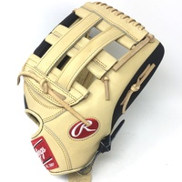 rawlings heart of the hide pro3030 baseball glove camel black 12 75 right hand throw