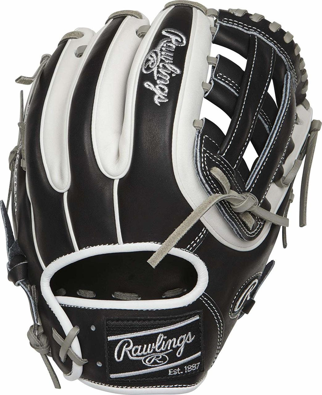 rawlings-heart-of-the-hide-pro314-11-5-baseball-glove-right-hand-throw PRO314-6BW-RightHandThrow Rawlings 083321598791 Packed with pro features and a quick break-in process the Rawlings