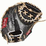 rawlings heart of the hide procm41bcf hyper shell catchers mitt 34 right hand throw