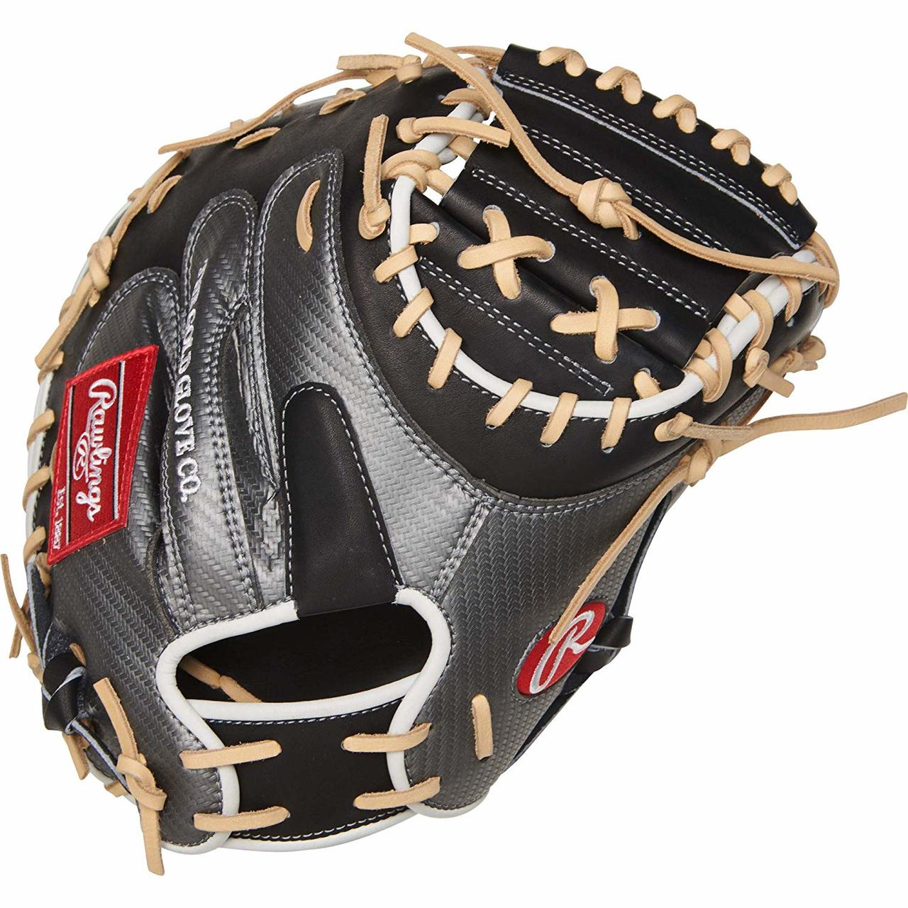 rawlings-heart-of-the-hide-procm41bcf-hyper-shell-catchers-mitt-34-right-hand-throw PROCM41BCF-RightHandThrow Rawlings 083321526541 Constructed from the top 5% of available hides Authentic Pro patterns