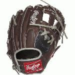 rawlings heart of the hide pronp5 7bch salesman sample 11 75 baseball glove right hand throw