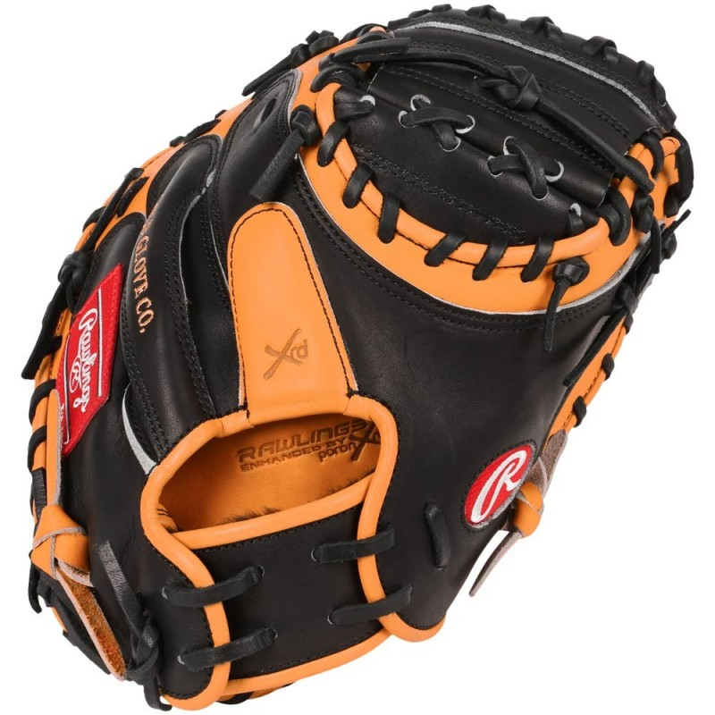 This Heart of the Hide players series Catcher Mitt from Rawlings features the One Piece Closed Web which creates maximum strength and durability With its 32 12quot pattern the glove forms a good pocket which makes it easier to control the ball and scoop up pitches in the dirt The Heart of the Hide players series features the gameday patterns of the Rawlings Advisory staff Available in select Heart of the Hide174 model these high quality gloves have defined the careers of those deemed quotThe Finest in the Field174quot and are now available to elite athletes looking to join the next class of defensive greatsThis glove is the same pattern worn by Salvador Perez p