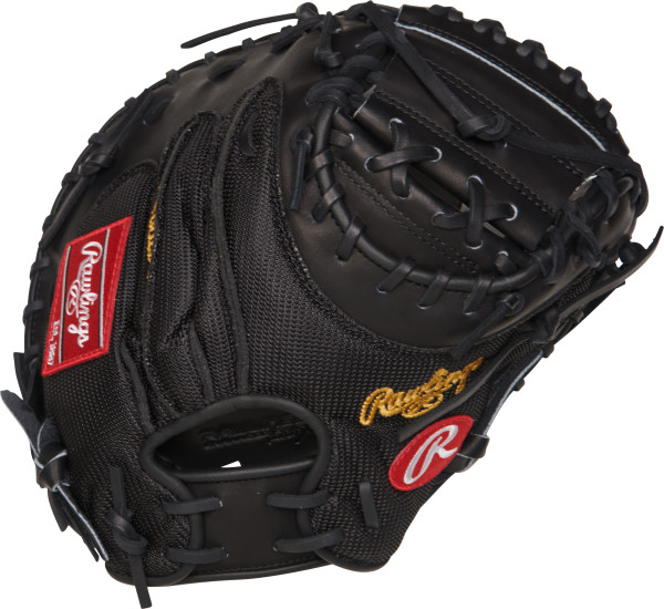 rawlings-heart-of-the-hide-proym4-catchers-mitt-34-right-hand-throw PROYM4-RightHandThrow Rawlings 083321523519 Rawlings Heart of the Hide Yadier Molina gameday pattern 34 inch