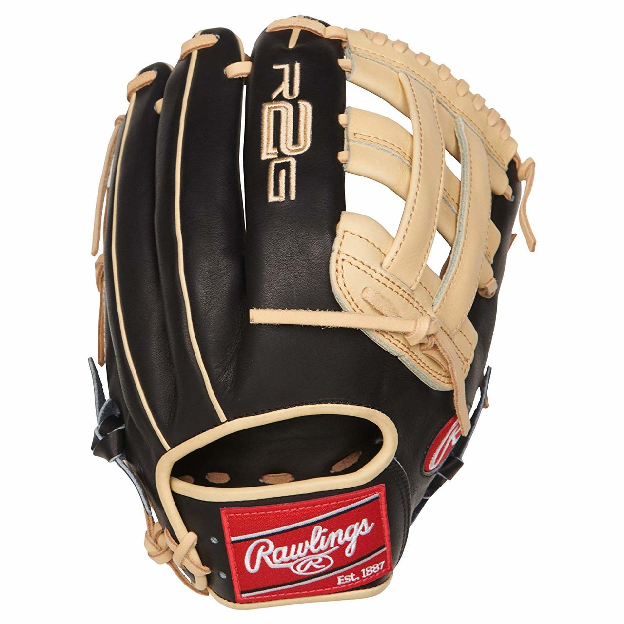 rawlings-heart-of-the-hide-r2g-12-25-inch-pror207-6bc-baseball-glove-right-hand-throw PROR207-6BC-RightHandThrow Rawlings 083321526596 12.25 Inch Model Pro H Web Narrow Fit Pattern Ideal For