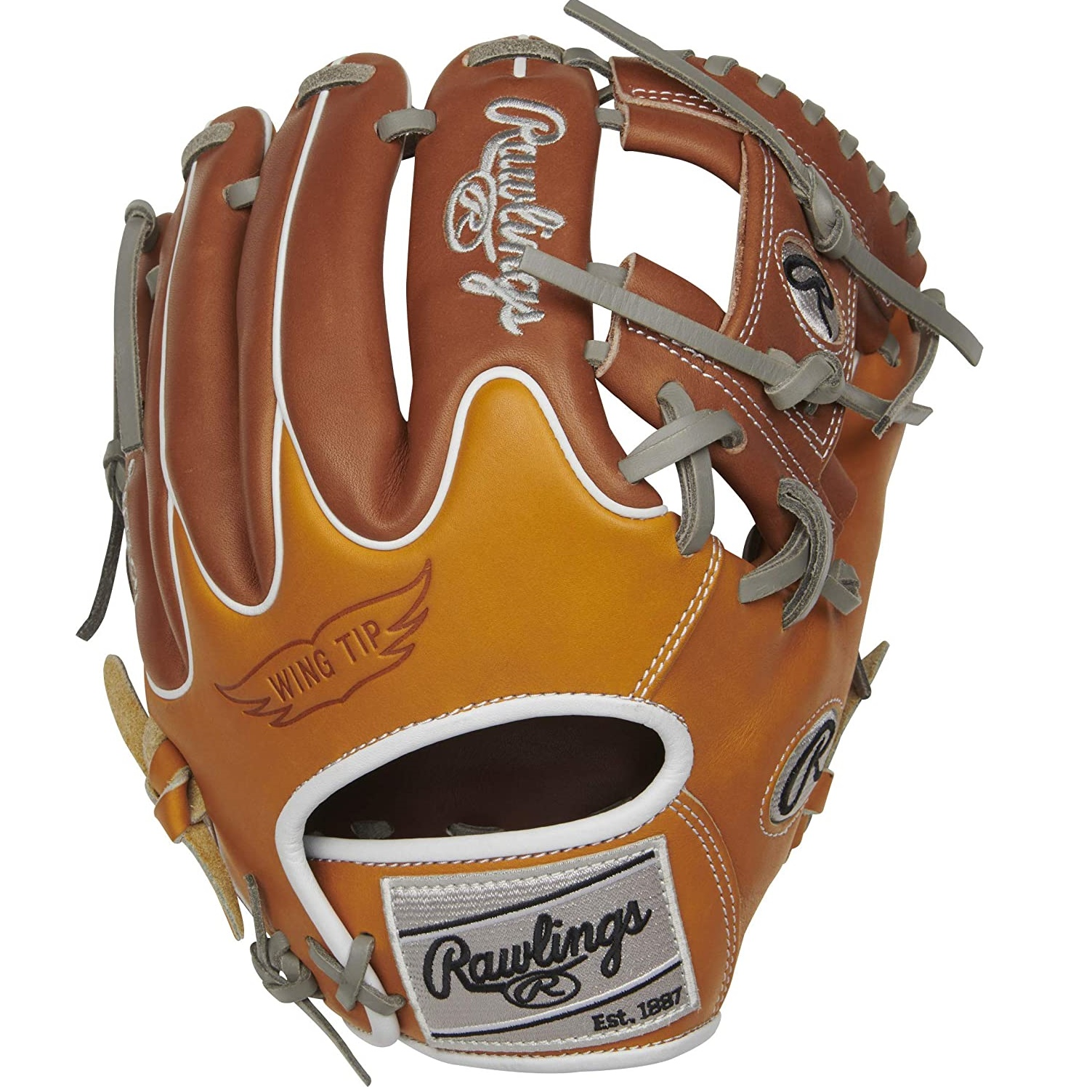 With an additional 25% factory break in, the 11.5-inch Rawlings R2G infield glove provides everything players love about a Heart of the Hide in a game-ready model. This pro model glove comes in a popular pro infield pattern with an I-web. As you would expect when you see the palm logo, this glove is crafted from ultra-premium Heart of the hide leather, renowned for its durability and ability to form the perfect pocket. Fit and comfort are also important and this glove absolutely delivers. A narrower hand opening and a deer-tanned cowhide palm lining provides a contoured fit around your hand and great feel for the ball in all conditions. The Wing Tip back and fresh color combination are the finishing touches on this pro infield glove. Once you put this glove on your search for a great gamer will be over.  Throwing Hand:   Right  Sport:   Baseball  Back:   Conventional  Player Break-In:   Additional 25% factory break-in for game ready feel  Fit:   Narrow  Level:   Youth  Padding:   Redesigned heel pad for easier close  Series:   Heart of the Hide  Shell:   Heart of the Hide Traditional Shell  Web:   Pro I  Size:   11.5 in  Special Feature:   R2G, Wing Tip  Pattern:   200  Age Group:   High School, 14U, 12U, 10U