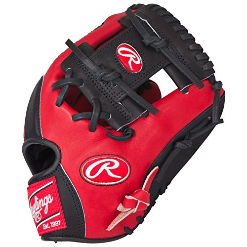 rawlings-heart-of-the-hide-red-black-baseball-glove-11-5-inch-pro202sb-right-hand-throw PRO202SB-Right-Hand-Throw Rawlings 083321337062 Rawlings Heart of the Hide Red Black Baseball Glove 11.5 inch