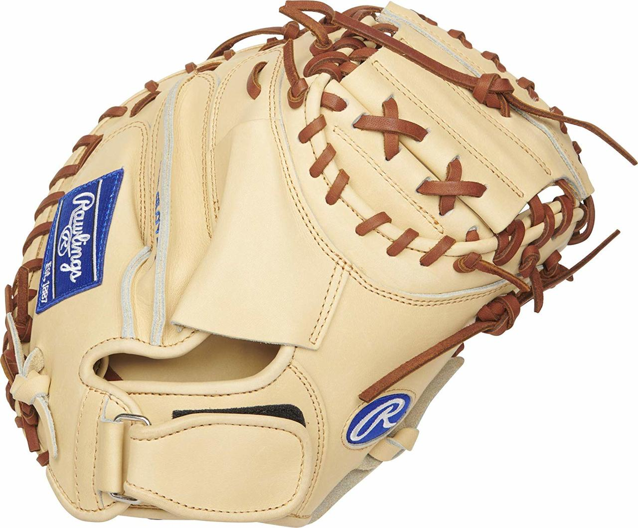 rawlings-heart-of-the-hide-salvador-perez-catchers-mitt-32-5-right-hand-throw PROSP13C-RightHandThrow  083321598883 Crafted from world-renowned Heart of the Hide ultra-premium steer-hide leather this