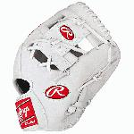 Rawlings Heart of the Hide White Baseball Glove 11.5 inch PRO202WW Right Handed Throw