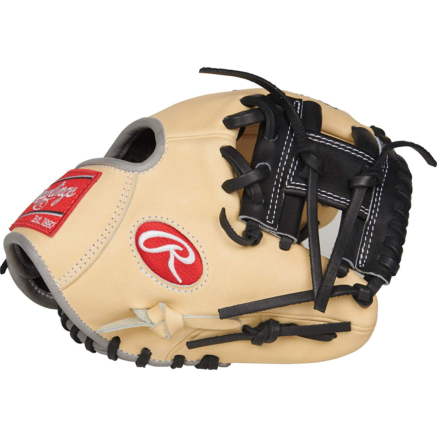 rawlings-heart-the-hide-9-5-inch-pro200tr-2c-training-baseball-glove-right-hand-throw PRO200TR-2C-RightHandThrow  083321523588 Practice glove designed to improve defensive skills and awareness Constructed from