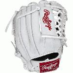 Rawlings Heritage Pro HPW204DSW Baseball Glove White 11.5 Right Hand Throw