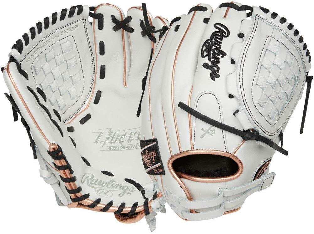 rawlings-liberty-advanced-12-in-fast-pitch-softball-glove-right-hand-throw RLA120-3RG-RightHandThrow Rawlings 083321665851 Quality full-grain leather for enhanced durability PoronA XRDa palm padding for