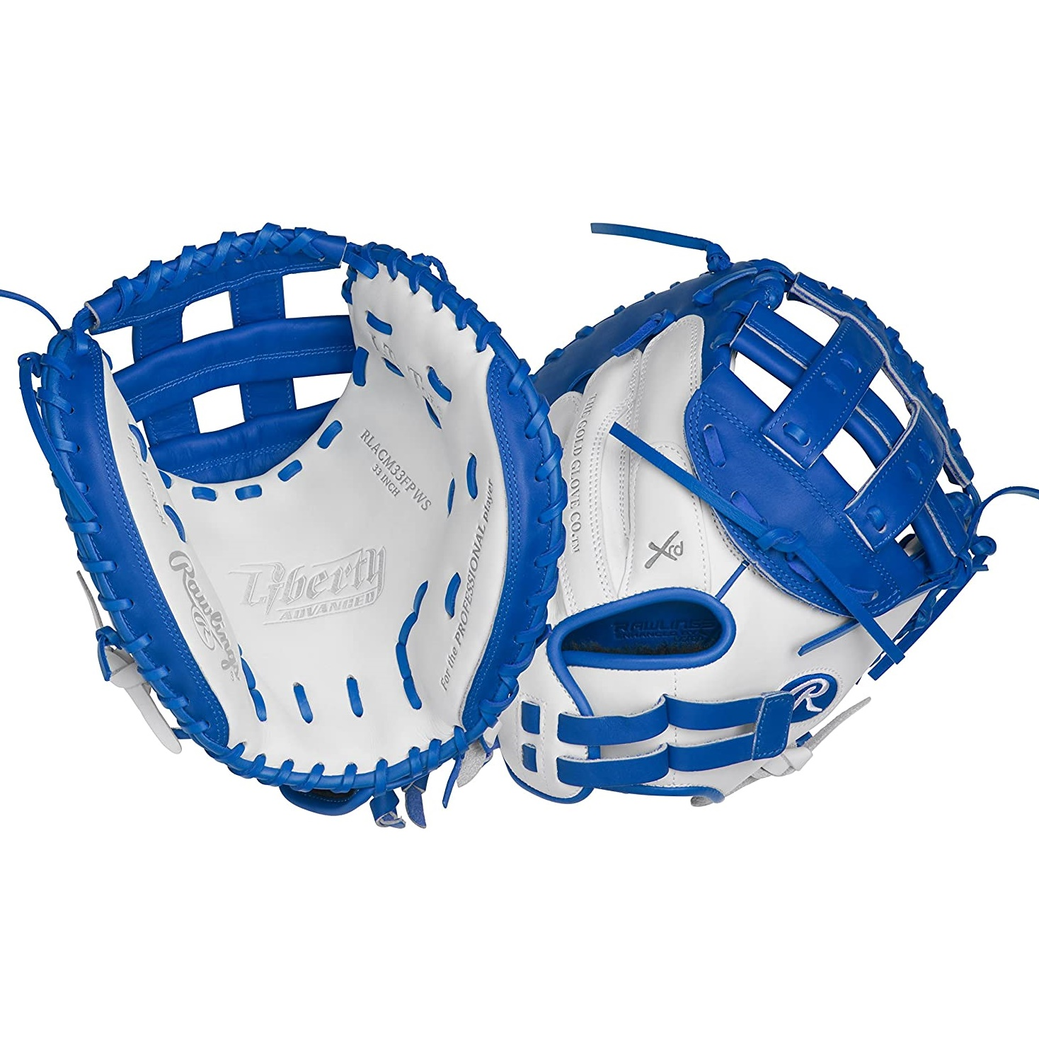 rawlings-liberty-advanced-color-33-fastpitch-catchers-mitt-right-hand-throw RLACM33FPR-RightHandThrow   The Rawlings Liberty Advanced Color Series 33-Inch catchers mitt provides unmatched