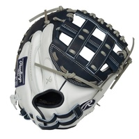 The Rawlings Liberty Advanced Color Series 33-Inch catcher's mitt provides unmatched quality and performance for fastpitch catcher's. It's large pocket allows you to easily frame pitches on the corner. As a result you'll help your team out of more mid-inning jams. This RLA Color Series mitt is crafted from quality, full-grain leather for greater durability, and it also offers a soft feel for a quick, easy break-in. For added comfort, the Poron XRD padding provides enhanced palm protection against hard pitches. In addition, the adjustable Pull-Strap allows you to get the perfect fit every inning. All of this is packed in new, unique color ways that make the new Color Series catcher's mitt the perfect addition to your bag. Buy yours today! ul li class=attributespan class=labelColor: /span span class=value White/Navy /span/li li class=attributespan class=labelSport: /span span class=value Softball /span/li li class=attributespan class=labelBack: /span span class=value Adjustable Pull Strap /span/li li class=attributespan class=labelPlayer Break-In: /span span class=value 30 /span/li li class=attributespan class=labelFit: /span span class=value Narrow /span/li li class=attributespan class=labelLevel: /span span class=value Adult /span/li li class=attributespan class=labelPadding: /span span class=value PORON XRD Palm Pad /span/li li class=attributespan class=labelSeries: /span span class=value Liberty Advanced /span/li li class=attributespan class=labelShell: /span span class=value Full Grain Leather /span/li li class=attributespan class=labelWeb: /span span class=value Pro H /span/li li class=attributespan class=labelSize: /span span class=value 33 in /span/li li class=attributespan class=labelCollection: /span span class=value Color Series /span/li li class=attributespan class=labelPattern: /span span class=value CM33SB /span/li li class=attributespan class=labelAge Group: /span span class=value Pro/College, High School, 14U /span/li /ul