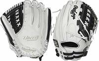 Crafted from the finest full-grain leather, the Liberty Advanced 12.5-Inch fastpitch glove features exceptional quality. In addition, it also offers a soft, game-ready feel for a quick and easy break-in. The combination of its large, 12.5-inch softball-specific pattern and double-laced basket web make it an ideal choice for infielders, pitchers and outfielders alike. The adjustable pull-strap allows for a custom fit. As a result your glove will always feel comfortable on your hand. Furthermore, the Poron XRD padding provides optimal palm protection against even the hardest hit balls. All of this is packed in new, unique colorways for an unmatched look and style on the diamond. Take your game to the next level; shop now! ul li class=attributespan class=labelColor: /span span class=value White/Black /span/li li class=attributespan class=labelThrowing Hand: /span span class=value Right /span/li li class=attributespan class=labelSport: /span span class=value Softball /span/li li class=attributespan class=labelBack: /span span class=value Adjustable Pull Strap /span/li li class=attributespan class=labelPlayer Break-In: /span span class=value 30 /span/li li class=attributespan class=labelFit: /span span class=value Standard /span/li li class=attributespan class=labelLevel: /span span class=value Adult /span/li li class=attributespan class=labelPadding: /span span class=value PORON XRD Palm Pad /span/li li class=attributespan class=labelSeries: /span span class=value Liberty Advanced /span/li li class=attributespan class=labelShell: /span span class=value Full Grain Leather /span/li li class=attributespan class=labelWeb: /span span class=value Basket /span/li li class=attributespan class=labelSize: /span span class=value 12.5 in /span/li li class=attributespan class=labelCollection: /span span class=value Color Series /span/li li class=attributespan class=labelPattern: /span span class=value 125SB /span/li li class=attributespan class=labelAge Group: /span span class=value Pro/College, High School, 14U /span/li /ul Limited Edition Color Way 12.5 Pattern game-ready feel full-grain oil treated shell leather Adjusted hand openings for improved fit and control.