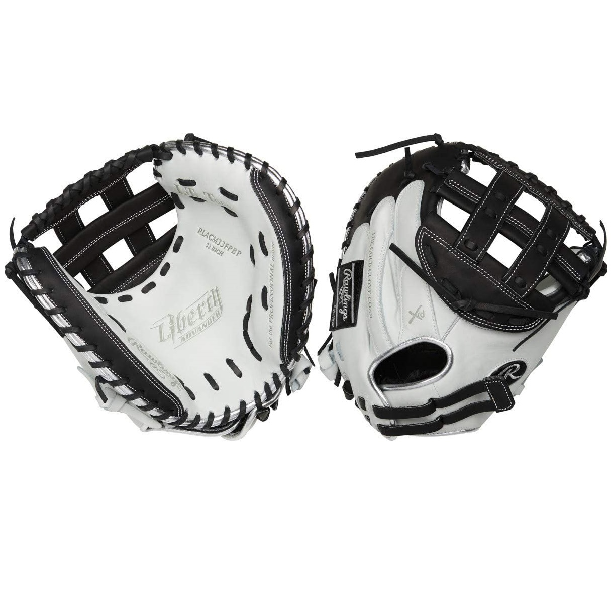 rawlings-liberty-advanced-limited-2-0-33-fastpitch-softball-catchers-mitt-right-hand-throw RLACM33FPBP-RightHandThrow   The Rawlings Liberty Advanced Color Series 33-Inch catchers mitt provides unmatched