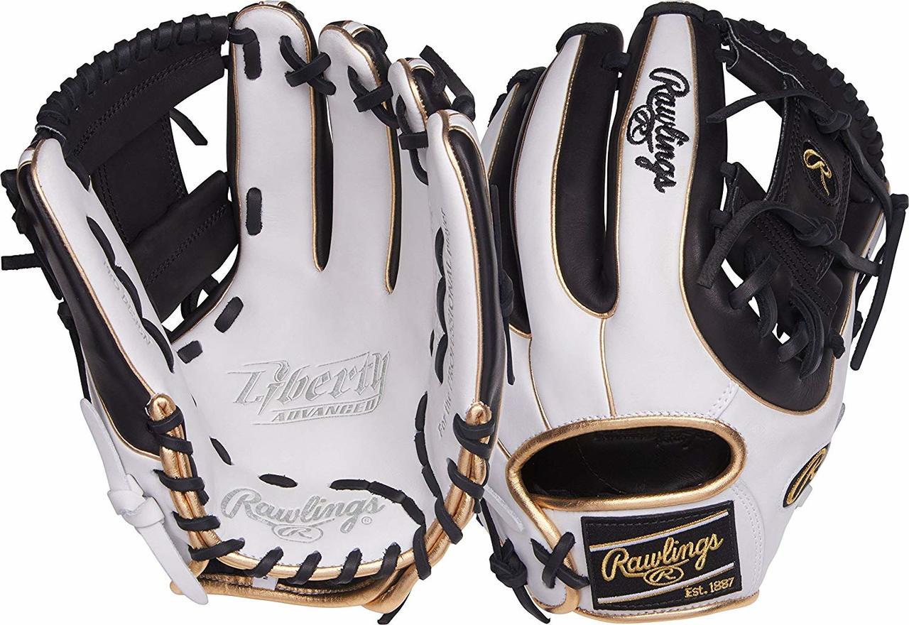 rawlings-liberty-advanced-rla315sb-2wbg-fastpitch-softball-glove-11-75-right-hand-throw RLA315SB-2WBG-RightHandThrow Rawlings 083321439339 The perfectly-balanced patterns of the updated Liberty Advanced Series are designed