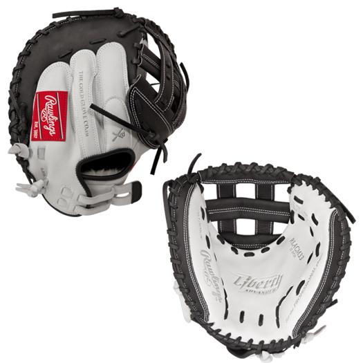 rawlings-liberty-advanced-softball-catchers-mitt-33-inch-right-hand-throw RLACM33-RightHandThrow Rawlings 083321231551 Modified Pro H™ web is similar to the Pro H web