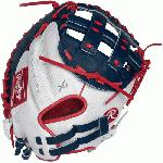 p33 Inch Women's Catcher's Model Custom Fit, Adjustable, Non-Slip Pull Strap Back Break-In: 80% Factory 20% Player/p