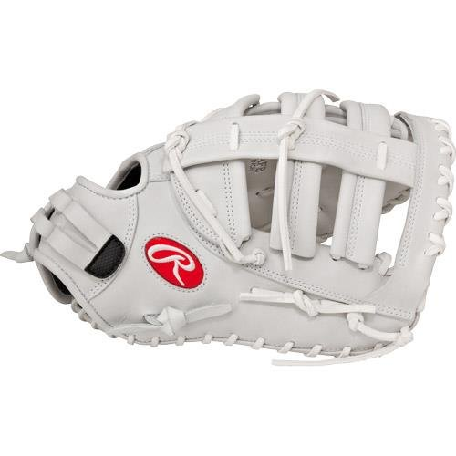 Single-Post reinforced, Double Bar web forms a snug, secure pocket for first base mitts First base mitt 20% player break-in Conventional back features a wide opening above the wrist Balanced patterns and adjusted hand openings for improved fit control All leather lace for increased durability and shape retention Poron® XRD™ palm and index finger pads significantly reduce ball impact for greater protection Game-ready feel with full-grain oil treated shell leather Custom fit, adjustable, non-slip pull strap