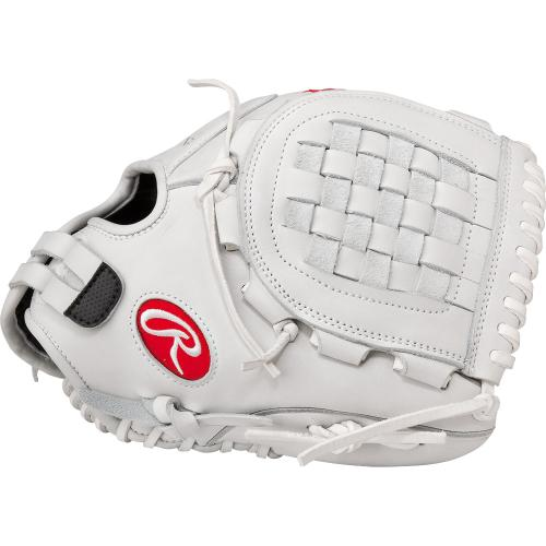rawlings-liberty-advanced-softball-glove-with-basket-web-white-12-in-right-hand-throw RLA120-RightHandThrow Rawlings 083321231476 Basket-Web® forms a closed deep pocket that is popular for infielders