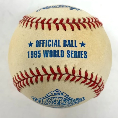 rawlings-offical-1995-world-series-baseball-1-each OLB1R-1ea Rawlings 083321072949 <p>Rawlings Official World Series Baseball 1 Each. One ball in box.</p>