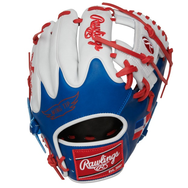 rawlings-olympic-dominican-heart-of-hide-baseball-glove-11-5-right-hand-throw PRO204W-2DR-RightHandThrow Rawlings 083321667626 11.5 pattern Constructed from the top 5% of all available hides