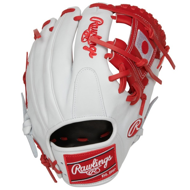 rawlings-olympic-japan-heart-of-hide-baseball-glove-11-5-right-hand-throw PRO204-2JP-RightHandThrow  083321667619 11.5 pattern Constructed from the top 5% of all available hides