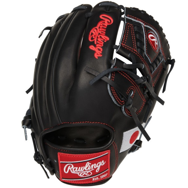 rawlings-olympic-japan-heart-of-hide-baseball-glove-11-75-right-hand-throw PRO205-30JP-RightHandThrow Rawlings 083321667688 11.75 pattern Constructed from the top 5% of all available hides