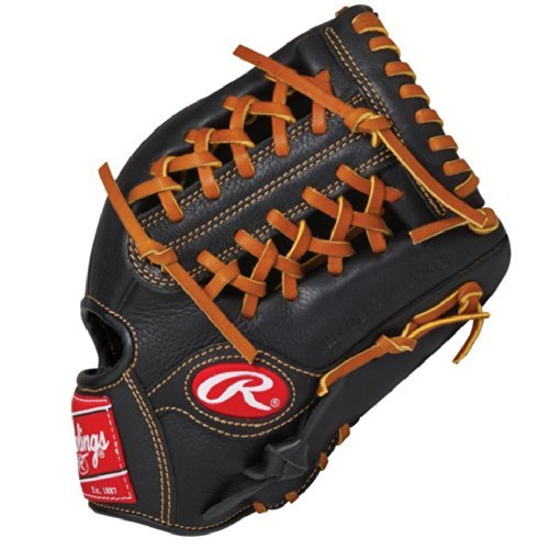 Rawlings Premium Pro 11.5 inch Baseball Glove PPR1150 (Right Hand Throw) : construction enhances the fit of the glove providing maximum control. lace less heel and palm provide better feel for the ball and effortless break in.