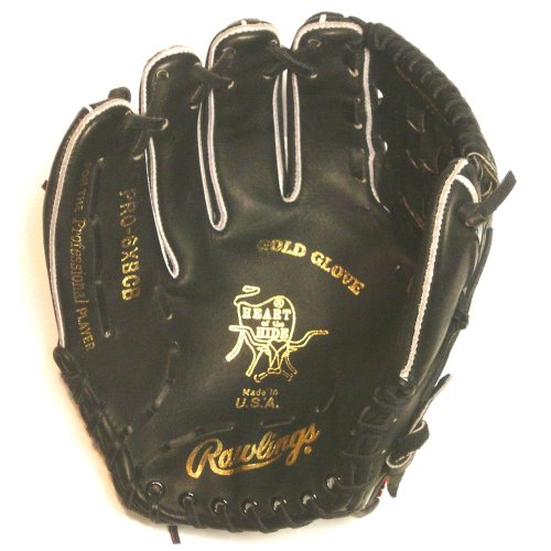Rawlings PRO-6XBCB Heart of the Hide Made in USA (Left Handed Throw) : Rawlings Heart of the Hide Basket Web Conventional Back.