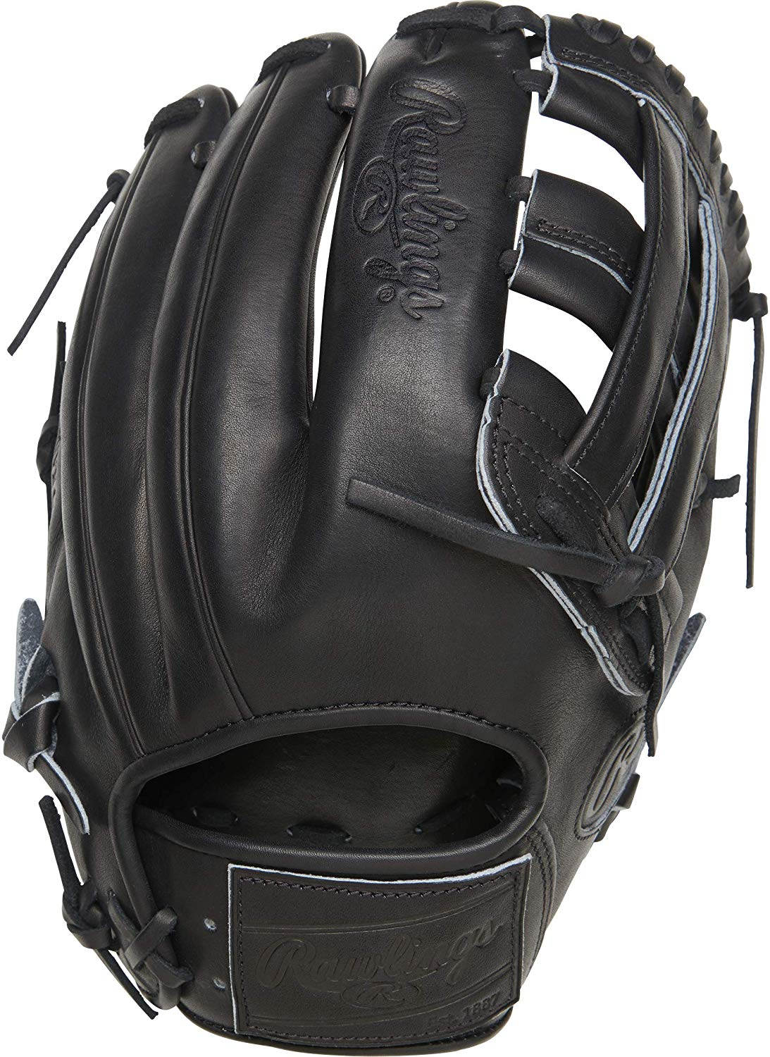 rawlings-pro-label-black-baseball-glove-12-25-right-hand-throw PROKB17-6B-RightHandThrow Rawlings 083321691386 <p>12.25 pattern Limited Edition Kris Bryant Pattern Indent Stamping On Shell