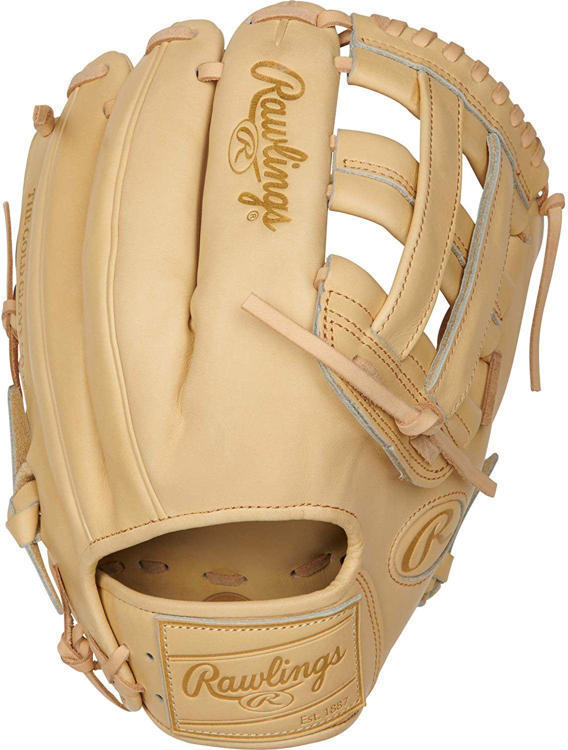 rawlings-pro-label-camel-baseball-glove-12-25-right-hand-throw PROKB17-6C-RightHandThrow  083321691379 <p>12.25 pattern Limited Edition Kris Bryant Pattern Indent Stamping On Shell