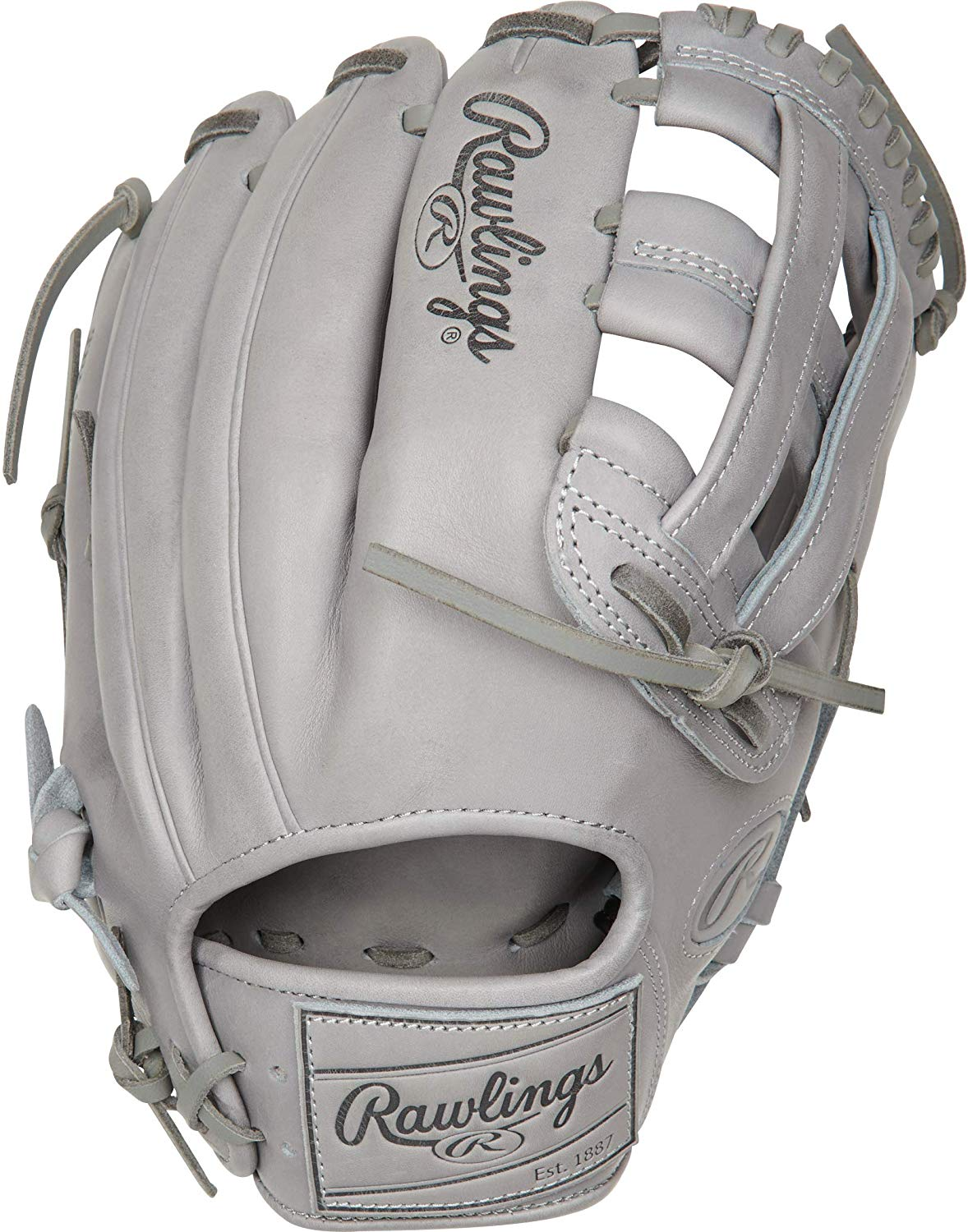 rawlings-pro-label-grey-baseball-glove-12-25-right-hand-throw PROKB17-6G-RightHandThrow Rawlings 083321691393 <p>12.25 pattern Limited Edition Kris Bryant Pattern Indent Stamping On Shell